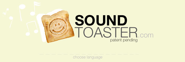 Sound-Toaster - Welcome - please choose language